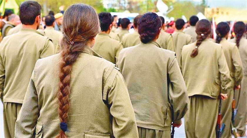PKK'nın tecavüz üssü Kandil! Bin kadın terörist kaçtı
