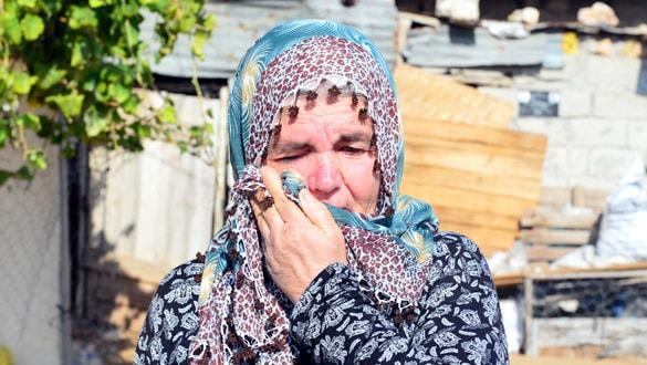 Olayı görünce gözyaşlarına boğuldu! 'Tutunacak dalımız kalmadı'