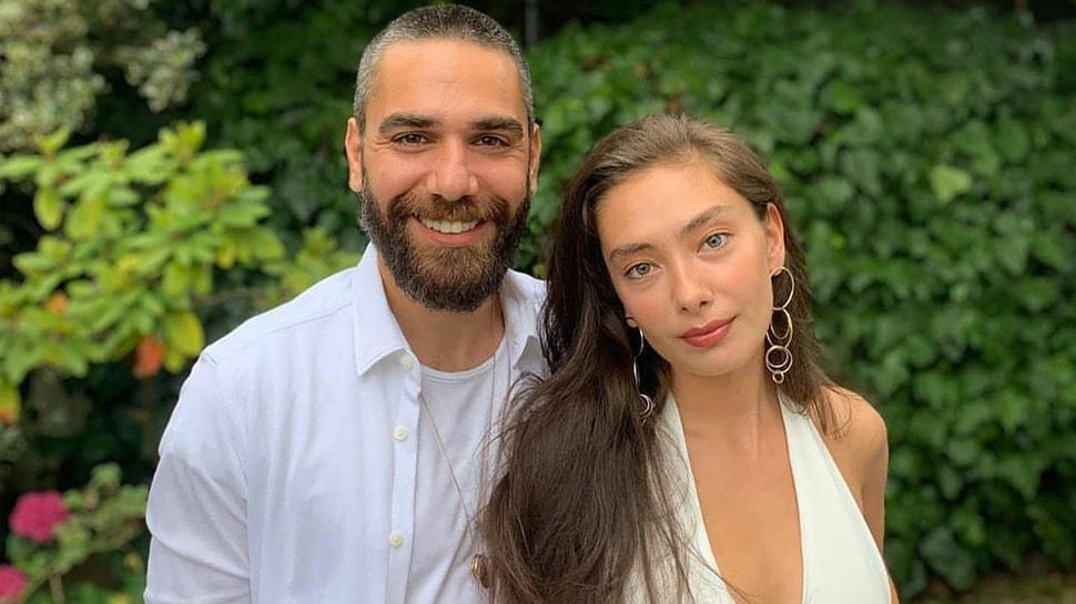 Neslihan Atagül'den eşi Kadir Doğulu'ya destek