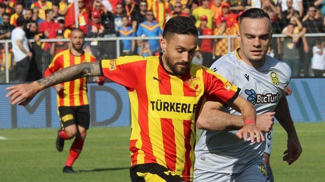 Göztepe sahasında BTC Turk Yeni Malatyaspor ile 1-1 berabere kaldı