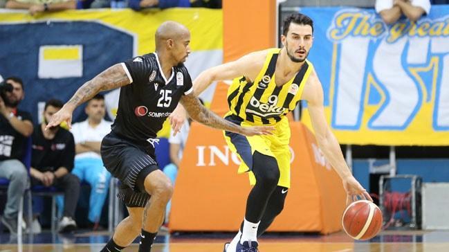Fenerbahçe Beko, Beşiktaş Sompo Sigorta'yı mağlup etti
