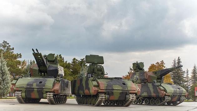 13 adet Hava Savunma Silah Sistemi TSK'ya teslim edildi