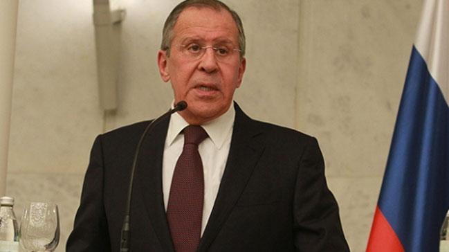 Lavrov: ABD petrol için Suriye'yi bölmek istiyor