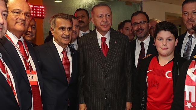 İşte Cumhurbaşkanı Erdoğan'ın soyunma odasındaki sözleri
