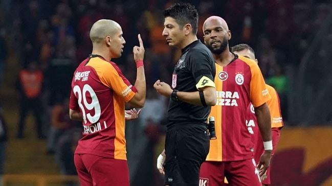 Galatasaray'da Ryan Babel Trabzonspor maçında cezalı duruma düştü