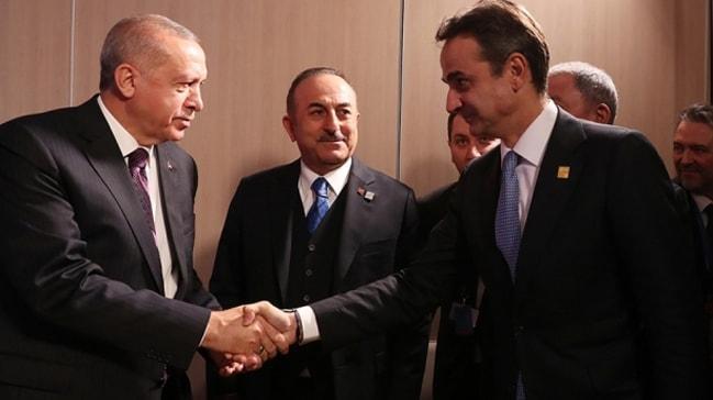 Başkan Erdoğan Yunanistan Başbakanı ile görüştü
