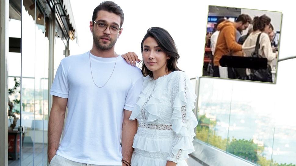 Her Yerde Sen'in yıldızları Furkan Andıç ve Aybüke Pusat'ın kaçamak tatili! Aşk iddiaları güçlendi