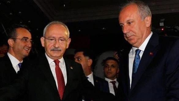 Kılıçdaroğlu, İnce'yi çileden çıkardı!