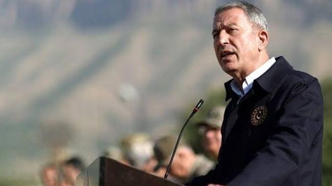 Bakan Akar: Libya mutabakatları diğer ülkelere karşı bir tehdit değildir