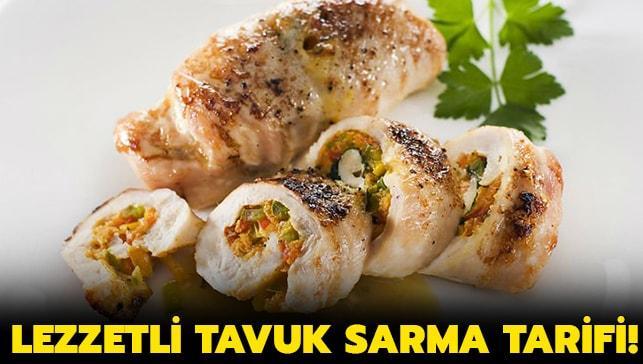 """MasterChef Tavuk Sarma tarifi ve yapılışı haberimizde! Tavuk Sarma nasıl yapılır"""""""