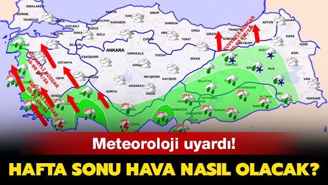 """Hafta sonu hava nasıl olacak"""" İstanbul hava durumu! 14 Aralık Cumartesi hava durumu raporları"""