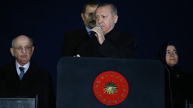Başkan Erdoğan noktayı koydu! 'Siz isteseniz de istemeseniz de Kanal İstanbul yapılacaktır'