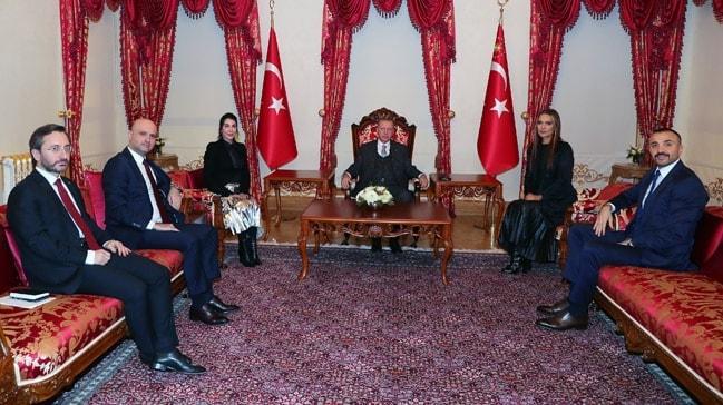 Başkan Erdoğan, Hande Yener ve Demet Akalın'ı kabul etti... Görüşmenin detayları ortaya çıktı