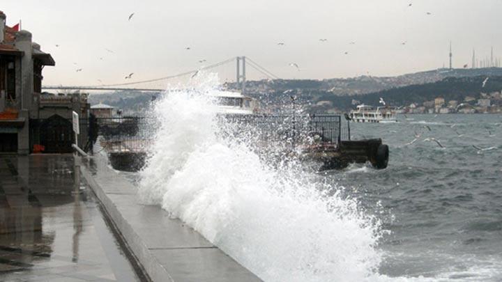 İstanbul'a 'turuncu' uyarı! Hızı 100 kilometreye çıkacak