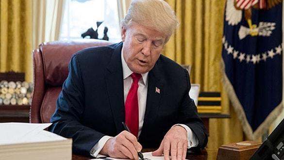 Trump: Çin ile imzalar 15 Ocakta Beyaz Saray'da atılacak