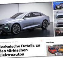Alman otomobil medyasından TOGG'a övgü: Cesur olduğu kadar mantıklı bir adım