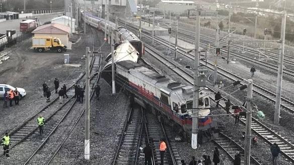 Son dakika: Ankara'da tren kazası!