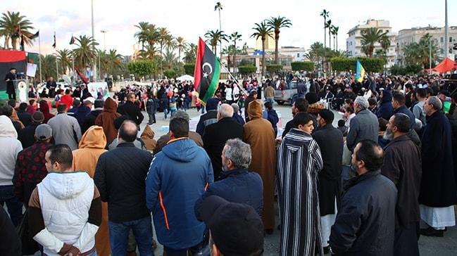 Libya'nın başkentinde Türkiye coşkusu!