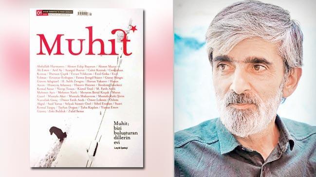 Edebiyat dünyası'Muhit'te buluştu