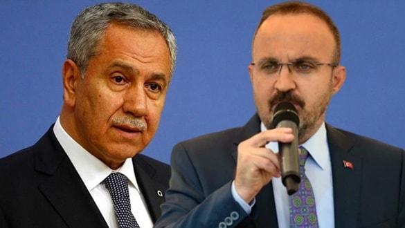 """AK Partili Turan'dan sert çıkış: Ne Arınç'ı, Arınç kim"""" Babamın oğlu olsa söylerim"""