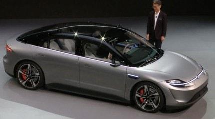 Sony'den elektrikli otomobil sürprizi