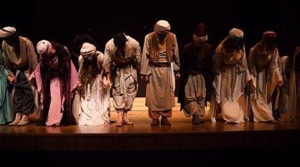 'Leyla ile Mecnun' oyunu sahnelendi