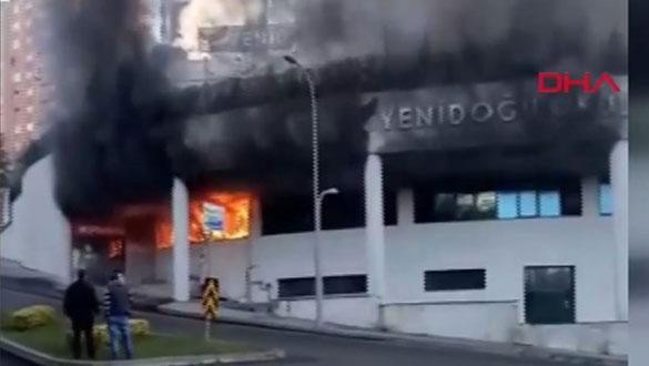 İstanbul Başakşehir'de okulda yangın paniği