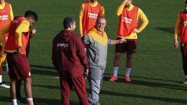 Galatasaray'da Falcao ve Seri idmana çıkmadı