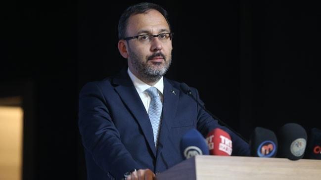 Bakan Kasapoğlu: 'Spor Kulüpleri ve Federasyonları Yasası'nı meclise taşıyacağız