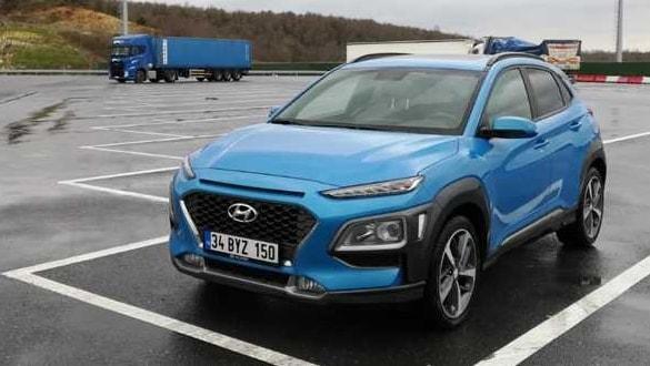 Hyundai Kona 1.6 dizel sürüş izlenimi