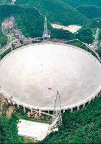 Bu teleskop 30 futbol sahası büyüklüğünde