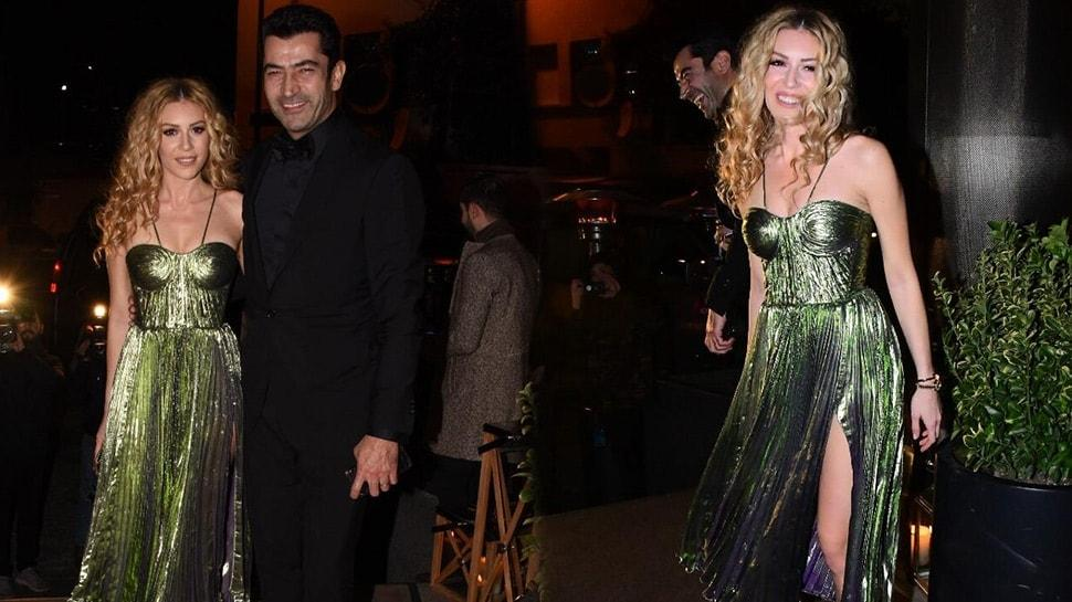 Kenan İmirzalıoğlu ve Sinem Kobal, Sıla-Hazer Amani düğününe damga vurdu!