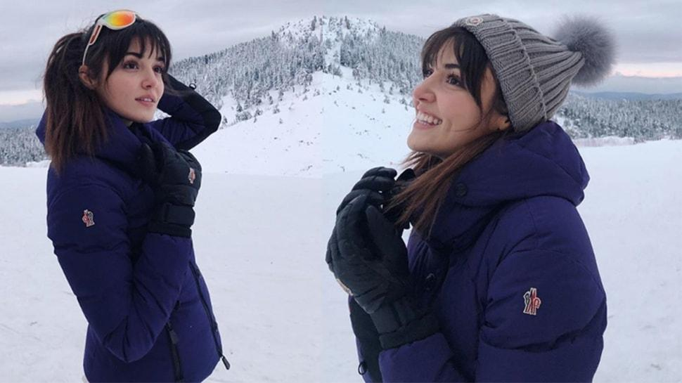 Azize dizisi final yapan Hande Erçel'in moral tatili!