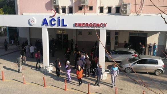 Mersin'de devlet hastanesinde patlama: 5 yaralı