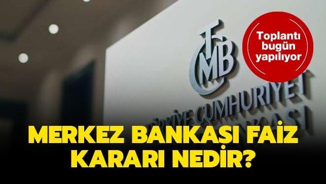 """Merkez Bankası faiz kararı nedir"""" 2020 yılı Ocak ayı Merkez Bankası faiz indirimini açıklandı!"""