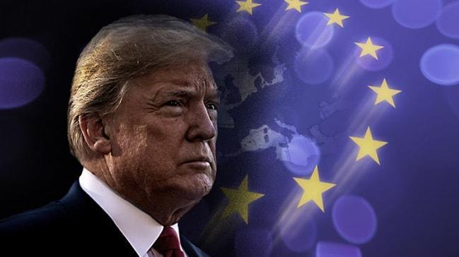 Avrupa'dan Trump itirafı: Bizi tehdit etti