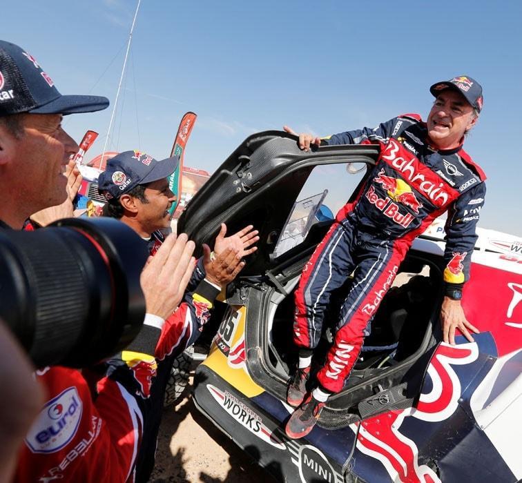 Dakar Rallisi'nde zafer 3'üncü kez Carlos Sainz'in