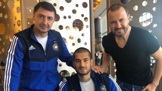 Eren Derdiyok, Şota Arveladze'nin çalıştırdığı Pakhtakor'a transfer oldu