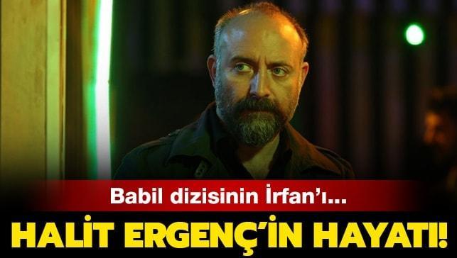 """Babil dizisinin İrfan'ı Halit Ergenç kimdir"""" Halit Ergenç nereli, kaç yaşında"""" İşte hayatı..."""