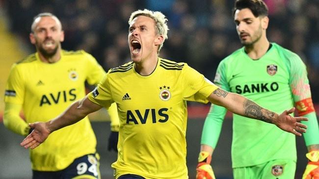 Fenerbahçe, Gaziantep FK'yı deplasmanda mağlup etmeyi başardı