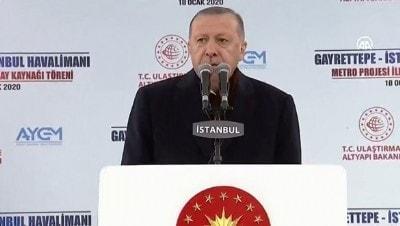 Başkan Erdoğan 'dünyayı hayran bırakacak proje' dedi ve duyurdu! Yıl sonu hizmete giriyor