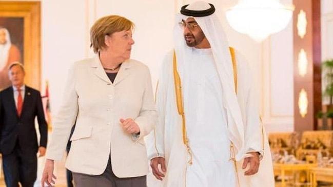 Merkel, BAE Veliaht Prensi ile Libya'yı görüştü