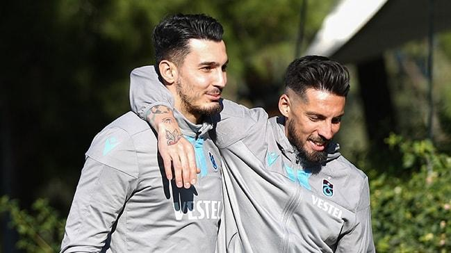 Trabzonspor'da sakatlığını atlatan yıldız isimler geri döndü
