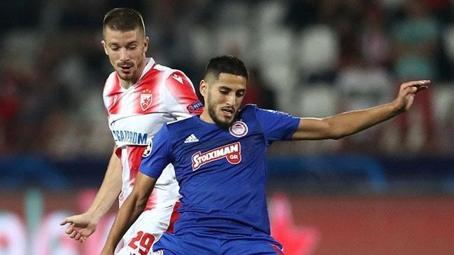 Eski Fenerbahçeli Yassine Benzia, Olympiakos'ta da tutunamadı