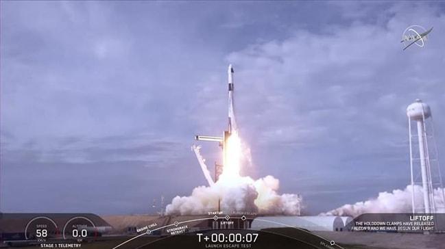 SpaceX sistemi başarıyla test etti