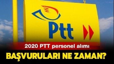 PTT personel alımı 2020 ne zaman? PTT personel alımı şartları neler?