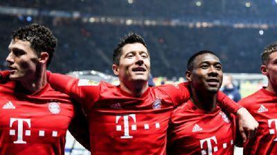 Bayern Münih ikinci yarı farka gitti