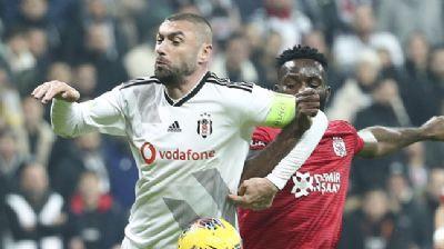 Lider Sivasspor, Beşiktaş'ı deplasmanda devirmeyi başardı