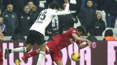 Beşiktaş'ta Muhammed Elneny cezalı duruma düştü