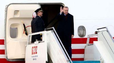 Başkan Erdoğan Almanya'dan ayrıldı